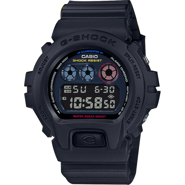 CASIO 卡西歐 G-SHOCK 霓虹潮流手錶 DW-6900BMC-1