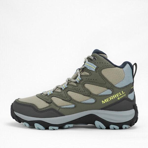 Merrell West Rim Sport Mid GORE-TEX [ML036558] 女 健走鞋 登山 運動 綠