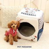【PET PARADISE 寵物精品】 SNOOPY 拼接2WAY睡屋 寵物睡床 寵物睡墊