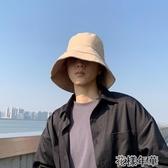 遮陽帽太陽帽子男潮人夏季遮陽帽防曬帽防紫外線大帽檐漁夫帽男純 花樣年華