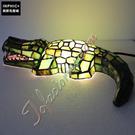 INPHIC-發光的鱷魚彩色玻璃手工燈具創意精品臥室動物小夜燈造型燈造型夜燈_S2626C