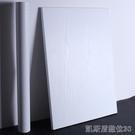 壁貼 壁紙白木紋 衣櫃櫥櫃子防水 舊傢俱翻新貼紙 自粘墻紙 波音軟片CY 【快速出貨】
