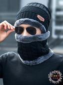 交換禮物-帽子男冬天針織毛線帽加厚潮正韓騎車保暖防寒風青年冬季男士棉帽