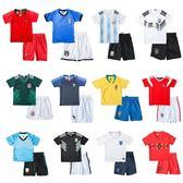 兒童足球服套裝男女童寶寶小學生世界杯球衣