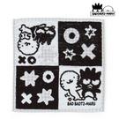 【SAS】日本限定 三麗鷗 XO 酷企鵝 格紋版 小毛巾 / 帕巾 25x25cm