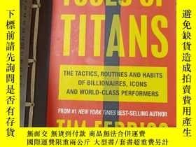 二手書博民逛書店TOOLS罕見OF TITANSY11418 TIM FERRISS Vermilion ISBN:97875