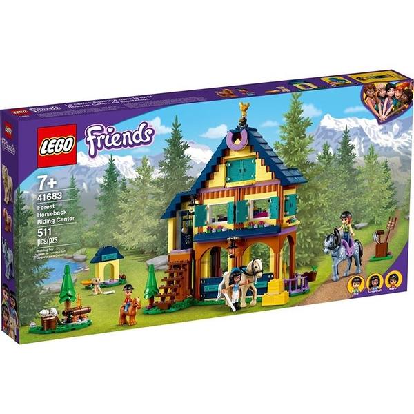 LEGO 樂高 41683 Forest Horseback Riding Center