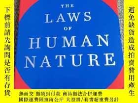二手書博民逛書店The罕見laws of human natureY231392