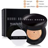 BOBBI BROWN 自然輕透膠囊氣墊粉底-無瑕版SPF50 PA+++(13g)含盒#Light