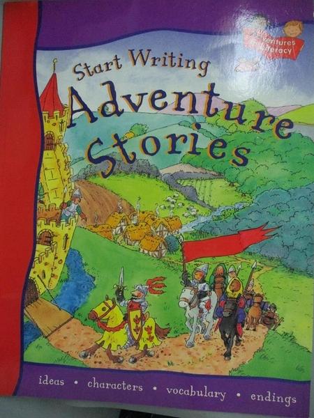 【書寶二手書T2/兒童文學_WFG】START WRITING ADVENTURE STORIES_Penny King