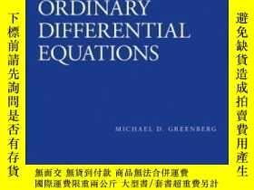 二手書博民逛書店Solutions罕見Manual To Accompany Ordinary Differential Equa