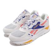 Reebok 復古慢跑鞋 Bolton Essential MU 米白 藍 麂皮鞋面 老爹鞋 運動鞋 女鞋【PUMP306】 DV5639