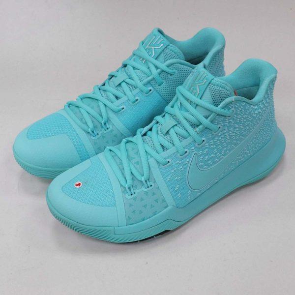promo code 031e9 8f613 【NG出清】Nike 籃球鞋 Kyrie 3 EP Aqua Tiffany 左鞋頭汙點 藍 XDR 男鞋【PUMP306】