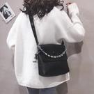 水桶包 質感小包包女包新款2021可愛韓版pu休閒簡約百搭單肩斜背包  【端午節特惠】