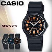 CASIO手錶專賣店 卡西歐 MQ-71-4B 男錶 壓克力鏡面 簡約指針 日常生活防水 塑膠錶殼 橡膠錶帶