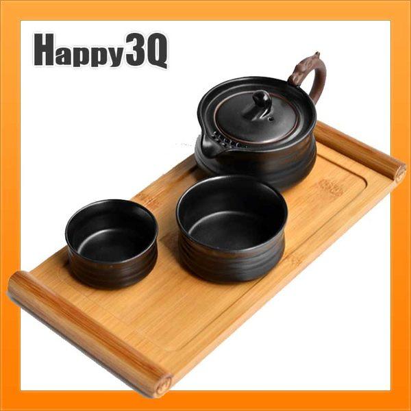 方便可攜帶旅行出國日式陶瓷茶具組茶壺茶杯茶盤四件組-多款【AAA1773】預購