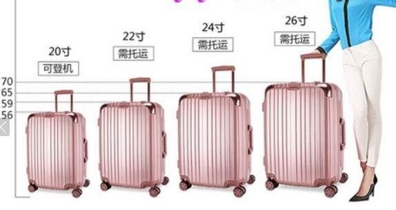 行李箱 萬向輪拉桿箱 男女20吋旅行箱 登機密碼箱【藍星居家】