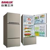 SANLUX台灣三洋 580L 三門直流變頻電冰箱 SR-C580CV1A