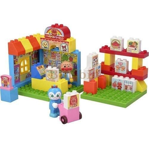 麵包超人 積木玩具/707-536