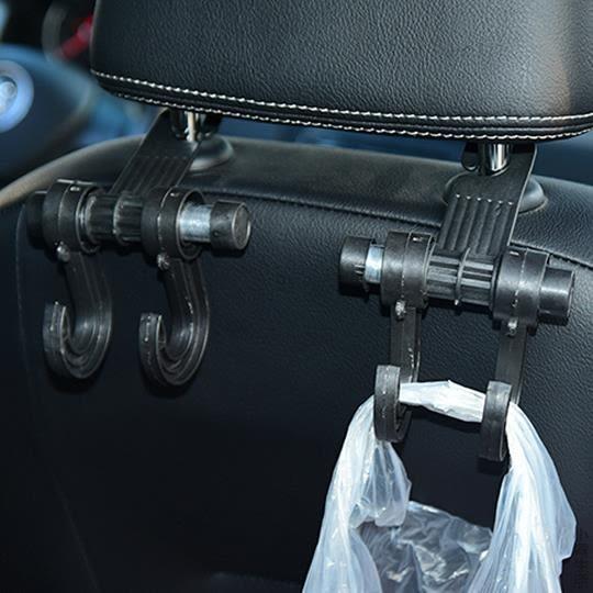 創意汽車內飾用品多功能后座掛車內車用車載車上掛鉤隱藏座椅背勾JRM-1360