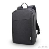 電腦后背包男雙肩包男士大中學生休閒簡約時尚電腦旅行包書包15.6寸 PA3991『pink領袖衣社』