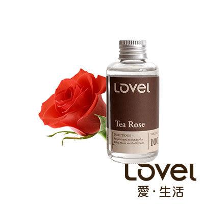 Lovel南法天然香氛擴香精油一入組(茶玫瑰)