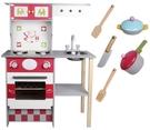 歐式木製廚房玩具組 家家酒 大型廚房 兒...