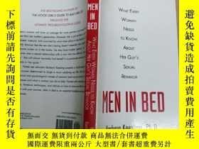 二手書博民逛書店Men罕見in Bed: What Every Woman Ne