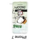 SNOOPY 透明軟殼 [RING] iPhone 7 / iPhone 8 史努比【台灣正版授權】