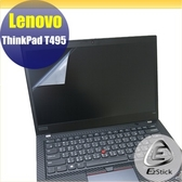 【Ezstick】Lenovo ThinkPad T495 靜電式筆電LCD液晶螢幕貼 (可選鏡面或霧面)