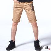 【夏季特惠】火焰地藏鐮刀短褲 - BLUE WAY  地藏小王