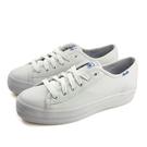 Keds TRIPLE KICK LTHR 休閒鞋 厚底 皮質 白色 女鞋 9191W132224 no301