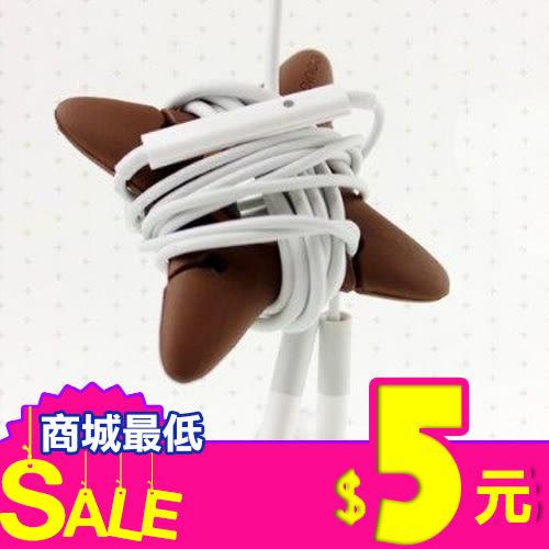[只要5元] 時尚 忍者飛鏢造型 繞線器 多功能捲線器 耳機收納 MP3耳機捲線器 繞線器 整線
