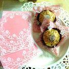 餅干包裝袋 日系粉色唯美 小號 20枚一...