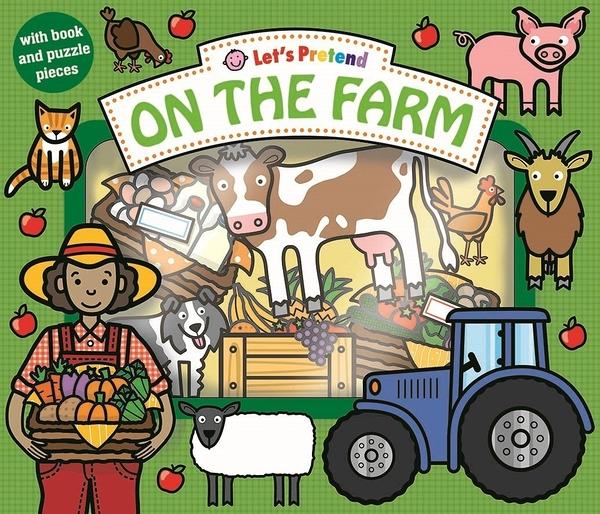 Let's Pretend:On The Farm 在農場 硬頁掀翻操作書(英國版)