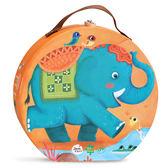 拼圖美樂兒童主題拼圖寶寶早教玩具幼兒非洲極地動物大塊拼板【全館免運好康八折】