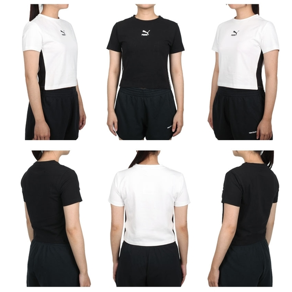 PUMA 女短袖T恤(歐規 路跑 慢跑 上衣 短版 免運 ≡排汗專家≡