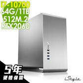 【五年保固】iStyle 平面繪圖商用電腦 i7-10700/64G/512M.2+1TB/RTX2060/W10P