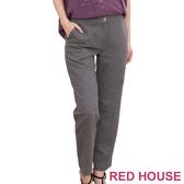 【RED HOUSE-蕾赫斯】毛料西裝九分褲(共二色)