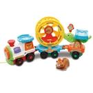 【 Vtech 聲光玩具 】嘟嘟車動物系列 - 動物火車軌道組╭★ JOYBUS玩具百貨