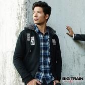 Big Train 軍事潮流連帽外套-黑-B3019088(領劵再折)