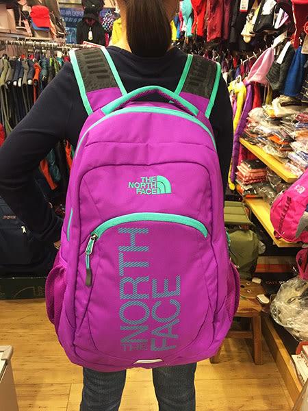 The North Face 美國品牌 15吋電腦背包/後背包-紫色 (TALLAC)
