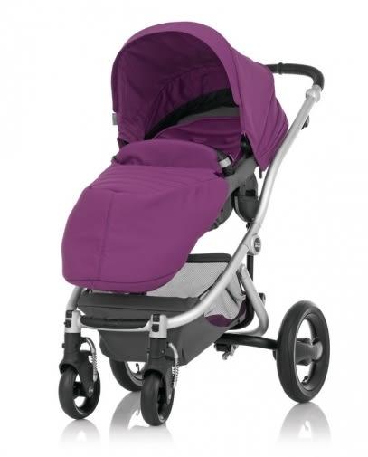 【愛吾兒】Britax Affinity 豪華旗艦座位換向手推車 紫色