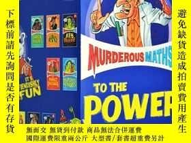 二手書博民逛書店可怕的數學罕見英文原版 Murderous Maths 全10冊