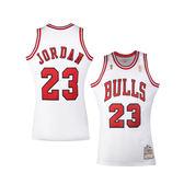 NBA Mitchell and Ness 96MJOR3 Michael Jordan球員版球衣(home/white)