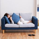 簡易小戶型沙髮 現代簡約懶人沙髮床 客廳臥室雙人休閒布藝小沙髮 現代簡 igo祕密盒子