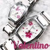 【含原盒】范倫鐵諾Valentino Coupeau原廠正品 陶瓷腕錶 櫻花手錶 女錶  ☆匠子工坊☆【UT0025】白