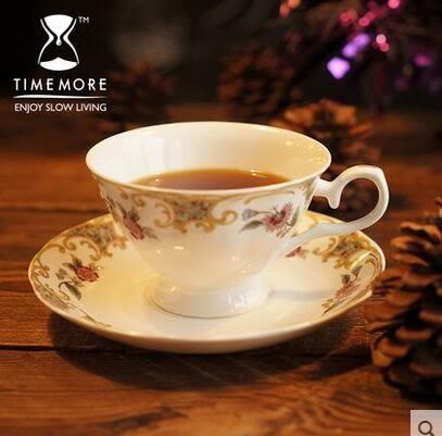 英式骨瓷咖啡杯子 創意陶瓷咖啡杯套裝1杯1碟1勺