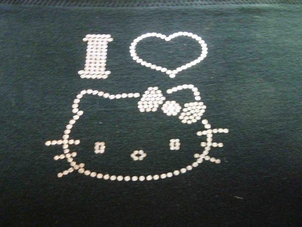 【震撼精品百貨】Hello Kitty 凱蒂貓~KITTY內衣褲-內衣褲組-黑LOVE