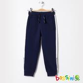 束口針織長褲01海軍藍-bossini男童